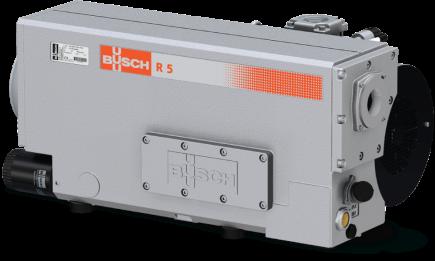 Reparatur einer Busch Vakuumpumpe R 0165D