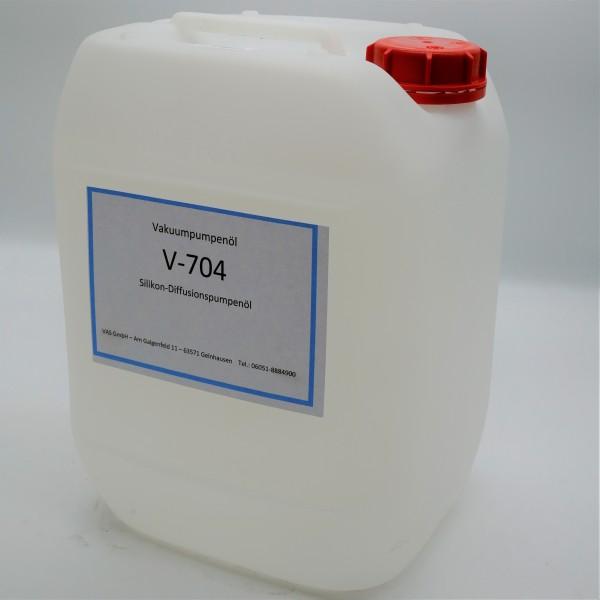 V-704, Silikon-Diffusionspumpenöl Kanister 20 Kg