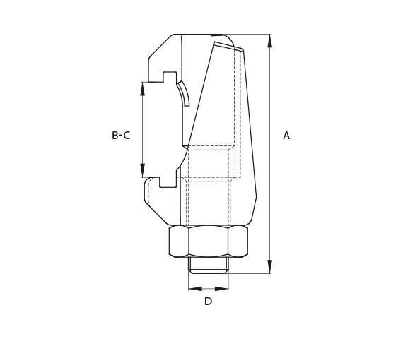 Klammerschraube DN 320-500 K Stahl verzinkt