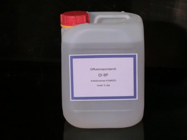 Diffusionspumpenöl V-DI8, Kanister 10 Liter
