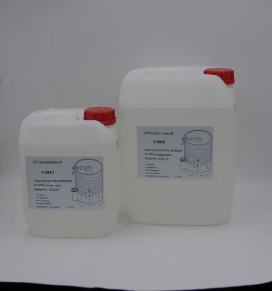 Diffusionspumpenöl V-DI10, Kanister 5 Liter