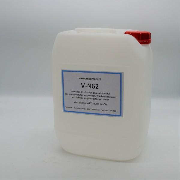 Vakuumpumpenöl V-N62 , Kanister 20 Liter