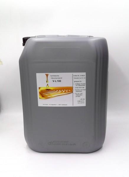 Vakuumpumpenöl VL100 , für Lebensmittelanwendung, 20 Liter Kanister